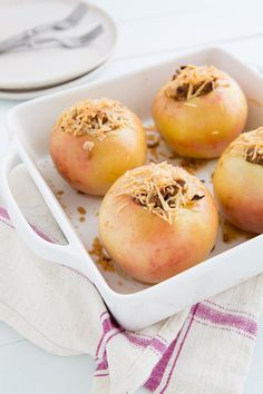Farro and Sausage-Stuffed Baked Apples. ☀CQ #glutenfree