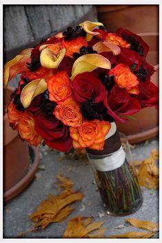 Wedding Flowers, Fall Wedding Flowers Ideas: 19 ideas of fall wedding flowers