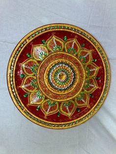 indian art | aarti thali pooja thali www.ranjanaarts.com