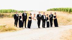 Borgo San Felice, Italy Wedding Photographer - Bridal Party Portrait - #BorgoSanFelice  #BorgoSanFelice  #destinationWedding #TuscanyWedding #TuscanyWeddingPhotographer // www.jonmoldweddings.com