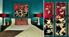 8 Asian Flourishes You Can Add to Your Bedroom Decor: Use Asian Panels or Artwork as Inspiration