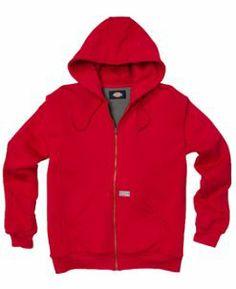 Hooded Thermal Lined Fleece Jacket | Men's Fleece | Dickies.ca  Size Large Mens Fleece, Kangaroo, Hoods, Zipper, Pockets, Fit, Sweaters, Christmas, Sweater