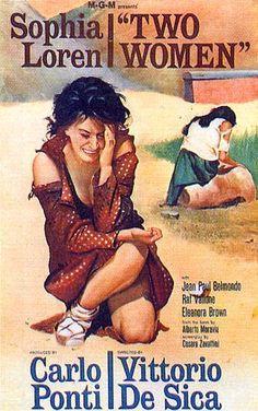 La Ciociara, (De Sica, 1960).    Premio Oscar per la Nostra Sophia!    Coco e l'Istrione