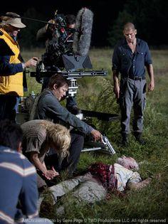The Walking Dead ...  behind the scenes