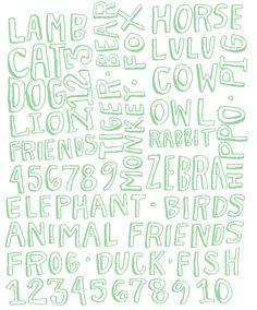 hand-lettering by heidischweigert.com