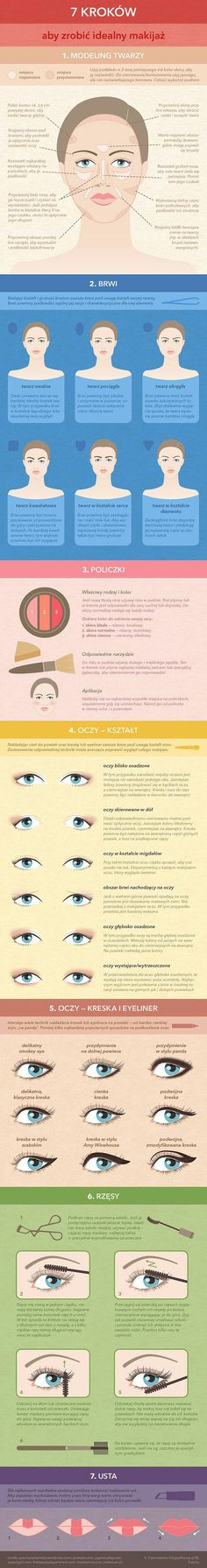Make-up in a nutshell. Makeup Inspo, Makeup Inspiration, Beauty Makeup, Eye Makeup, Hair Beauty, Make Up Tricks, How To Make, Lipstick Tutorial, Essential Oils For Skin
