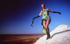 Hugo Weaving in Priscilla Queen Of The Desert.