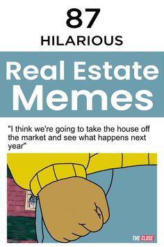 Looking for some new, hilarious, viral real estate memes to share with your coworkers and clients? Check out our 87 brand new real estate memes. Mortgage Quotes, Mortgage Tips, Refinance Mortgage, Real Estate Memes, Real Estate Tips, Realtor Memes, 1 Real, Funny Memes, Hilarious