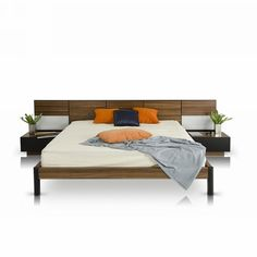 Found it at AllModern - Modrest Queen Platform Bedroom Set Platform Bedroom, Modern Platform Bed, Platform Beds, Design Furniture, Bedroom Furniture, Modern Furniture, Modern Beds, Quality Furniture, Contemporary Bedroom Sets
