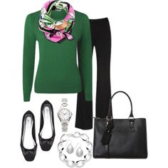 Work Day Friday, created by annabouttown on Polyvore