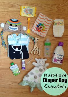 Diaper Bag Must Haves || Mom Faves
