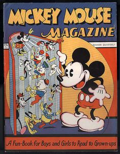 Mickey Mouse Magazine 1935 issue 1