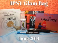 My #Ipsy Glam Bag for June 2014