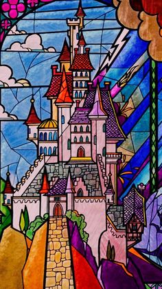 """""""And placed a powerful spell on the castle, and all who lived there."""""""