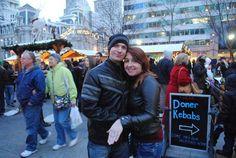 Engagement in Christmas Village 2014 - Opening Weekend on Philadelphia Business Journal