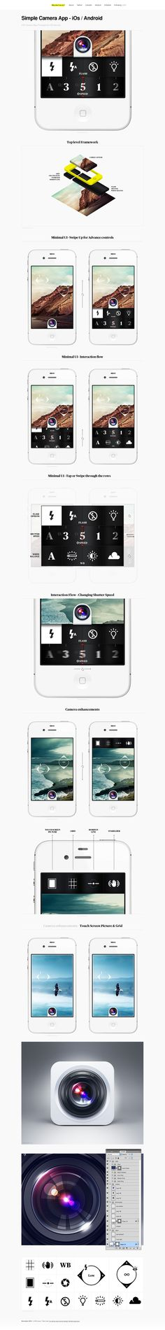 Simple Camera App - iOs- Android
