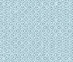 coquillage_bleu fabric by mimix on Spoonflower - custom fabric Custom Fabric, Spoonflower, Fabric Design