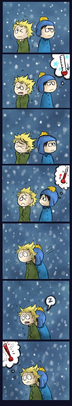 Creek : Winter by Papercut-Chika on DeviantArt