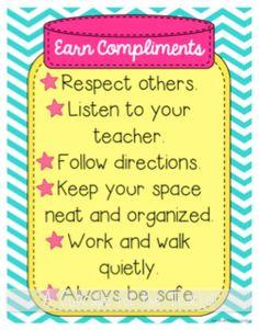 A Cupcake for the Teacher: Compliment Jar {Classroom Incentive & Craftivity}