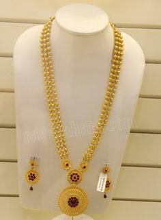 Popularity of long necklace designs - Jewelry Amor Gold Bangles Design, Gold Earrings Designs, Gold Jewellery Design, Necklace Designs, Gold Designs, Antique Jewellery, Gold Mangalsutra Designs, Gold Jewelry Simple, Indian Jewelry