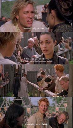 Heath Ledger  The knight's tale