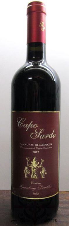 Caposardo Cannonau DOC sardische Weine beim Spezialisten bestellen www.tiposarda.de - sardische Spezialitäten & mehr