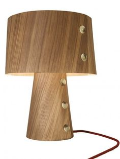 The new ecological products by lasfera at #@Jaren Jaren cologne #eco #lamp #wood