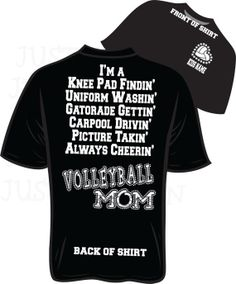 Should get me one of these for next season!  VolleyBall Mom Bling T-Shirt small - XL on Wanelo