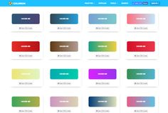 Beautiful Gradient Buttons with Hover Effect