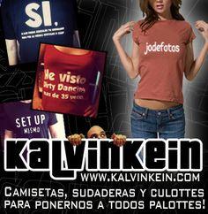 Camisetas, sudaderas y culottes para ponernos a todos palottes  www.kalvinkein.com