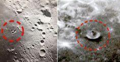 Há bases extraterrestres na lua e elas estão se movendo! Mas a NASA se mantém em silencio..