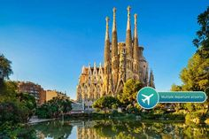 2-3nt 4* Barcelona Spa Break & Flights deal in Holidays Enjoy a two or three-night stay in vibrant Barcelona, staying at the 4* Senator Barcelona Spa Hotel.  Includes return flights from Stansted, Luton, Southend, Gatwick, Manchester and Bristol.  Get complimentary access to the  Acquaplaya Spa between 10am and midday, with themed swimming pools, an ice cave and more.  Visit Park Güell, ride...