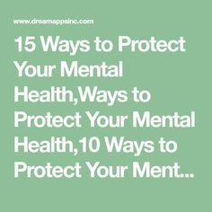 15 Ways to Protect Your Mental Health,Ways to Protect Your Mental Ways to Protect Your Mental Health,Mental Health Mental Health Foundation, Caffeine And Alcohol, Crisis Intervention, Psychological Well Being, Mental Health And Wellbeing, Human Emotions, Guided Meditation, Positive Affirmations, Psychology