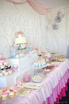 Ladies vintage high tea party with SO many ideas!