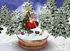 """Merry Christmas!"" Captured Inside IMVU - Join the Fun!"