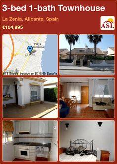 3-bed 1-bath Townhouse in La Zenia, Alicante, Spain ►€104,995 #PropertyForSaleInSpain