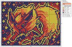 Pokemon - Flareon by Makibird-Stitching