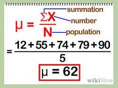Calculate Mean, Standard Deviation, and Standard Error