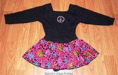 Girls Leotard Skirt Jacques Moret Size Small #JacquesMoret