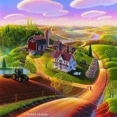 Robin Moline ~ Old MacDonald's Farm