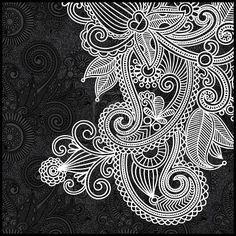 Résultats Google Recherche d'images correspondant à http://us.123rf.com/400wm/400/400/karakotsya/karakotsya1111/karakotsya111100459/11189693-noir-et-blanc-motif-floral.jpg
