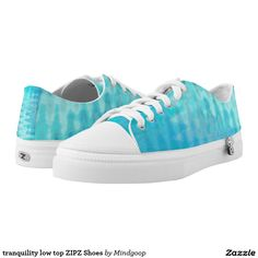 tranquility low top ZIPZ Shoes Printed Shoes