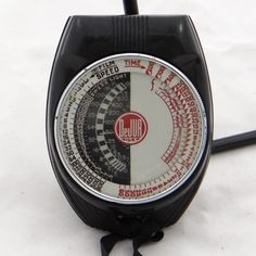 This is a vintage light exposure meter. I like the styling on these, as well as the functionality. I have multiple meters for sale at http://stores.ebay.com/Gully-Farm-Consignment?_rdc=1.