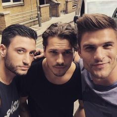 Giovanni Pernice (Italy), Gleb Savchenko (Russia) and Aljaz Skorjanec (Slovenia). Best looking of strictly lads Strictly Dancers, Strictly Come Dancing, Beautiful Boys, Gorgeous Men, Strictly Professionals, College Guys, Scruffy Men, Thing 1, Music Theater
