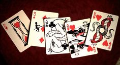 Curator playing cards