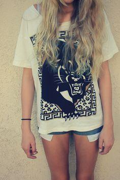 Summer, grunge, hair