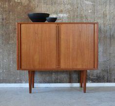 60er bramin teak kommode sideboard danish design 60s h.w. klein ... - Danish Design Wohnzimmer