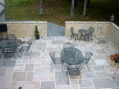 patio design ideas with pavers | cobblestone-paver-patio-san-diego ... - Natural Stone Patio Designs