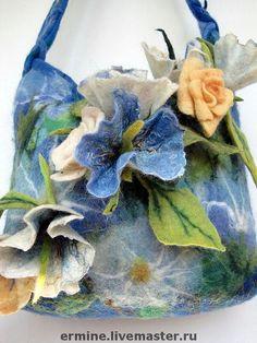 """валяная """"Сумочка""""(обещана) - сумка,женская сумка,оригинальная сумка,авторская сумка"""