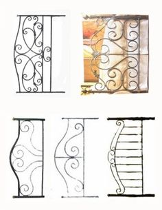 how to make a 1 1/2th scale wrought iron bed for dollhouse - Google Search
